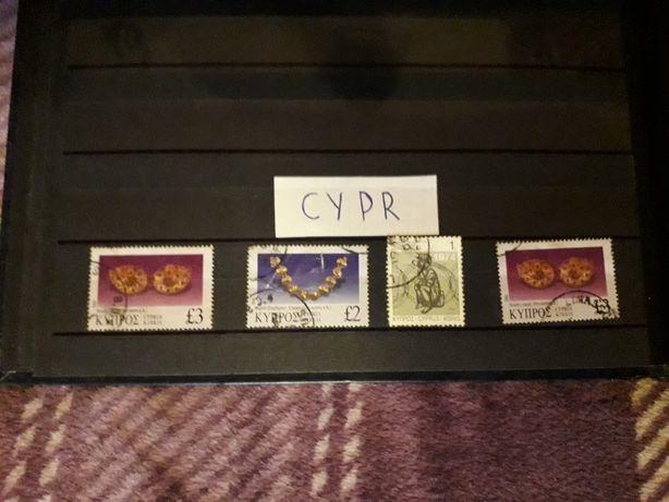 Sprzedam znaczki Cypr