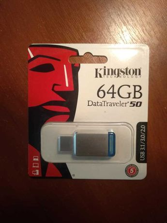 Флешка USB 3.1 Kingston  64GB