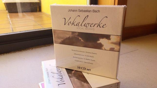 Vokalverke Vocal works Bach 10 Cd's SELADO