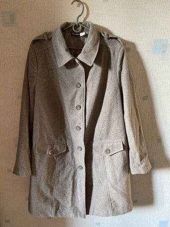 Женское кашемировое пальто (большое)