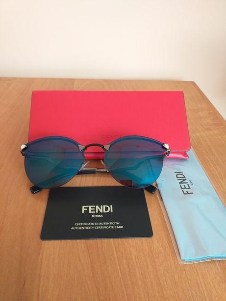 Fendi Louis Vuitton oryginalne nowe damskie okulary przeciwsłoneczne