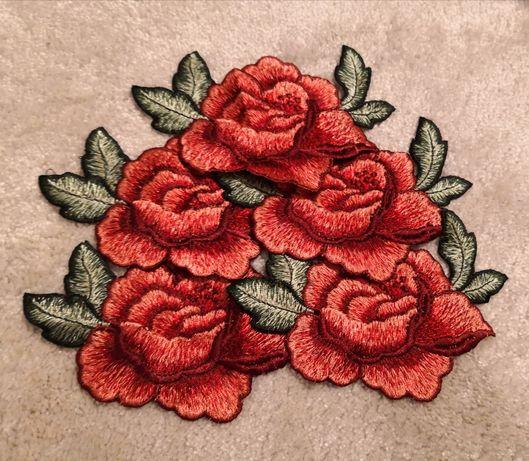 Kwiaty /naszywki na ubranie