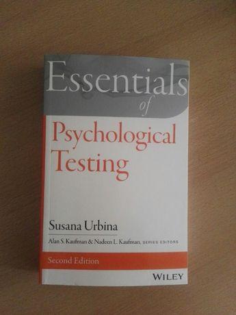 O livro Essentials of Psychological Testing
