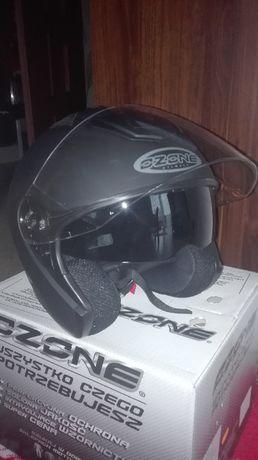 """kask motocyklowy czarny """"S"""""""