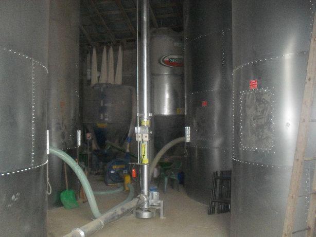Silosy,zbiorniki zbożowe używane15t, 20t (wewnętrzne)oraz nowe