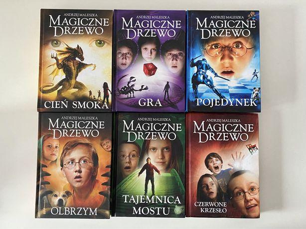 """Seria """"Magiczne Drzewo"""" Andrzeja Maleszki"""
