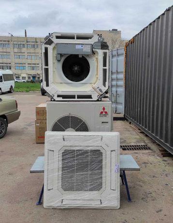 Кассетный кондиционер MITSUBISHI SLZ-KA50VAL до75м2 бу монтаж доставка