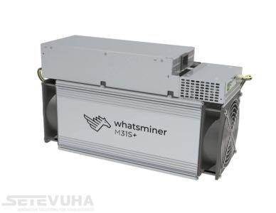 NEW Asic-майнер MicroBT WhatsMiner M31S+ 80 Th/s, 3360 Вт, с БП