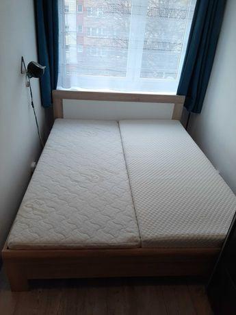 Łóżko Julietta 160×200 + dwa materace 80×200