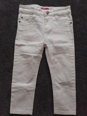 Spodnie jeansowe białe rozmiar 104