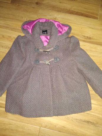 Płaszczyk, kurtka dla dziewczynki F&F rozmiar 122