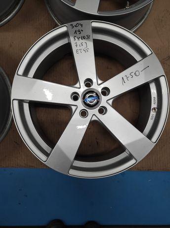 304 Felgi aluminiowe VOLVO R 19 5x108 Bardzo Ładne