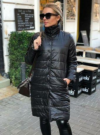 Куртка удлиненная пальто осеннее