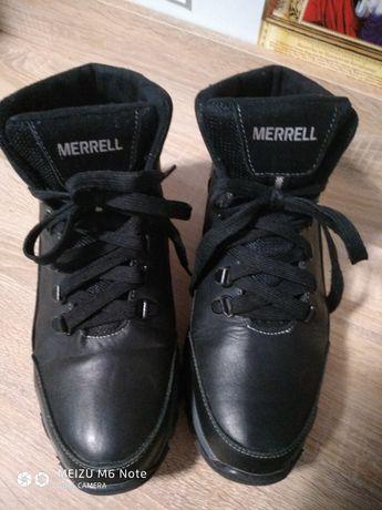 Зимние кожаные ботинки на подростка