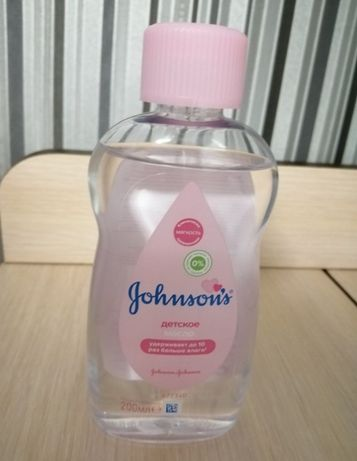 Отдам за шоколадку масло Johnson's baby