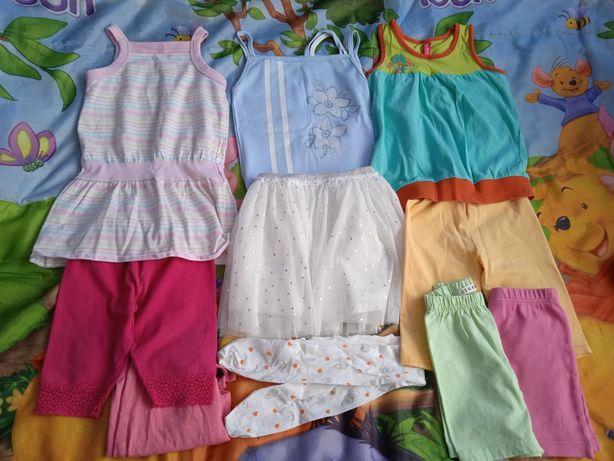 Zestaw ubranek na lato(13 sztuk) rozmiar 86-92.
