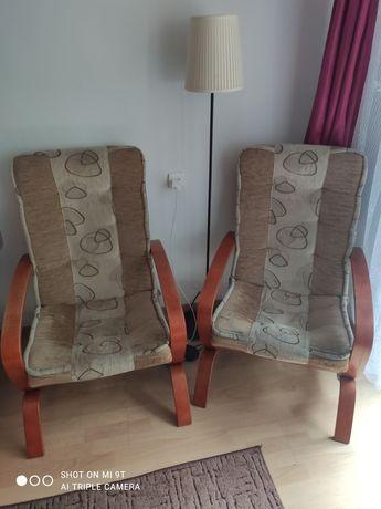 Komplet foteli w stylu bujanym stan dobry