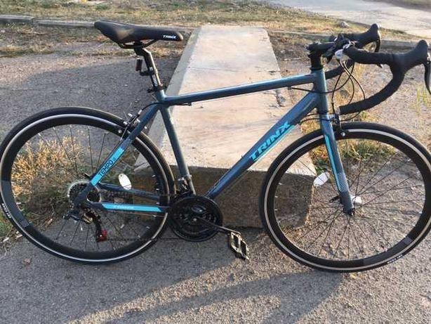 Новый шоссейный велосипед.