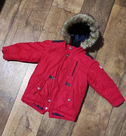 Куртка еврозима next 2-3г синтепон для мальчика 92-98см хлопчика