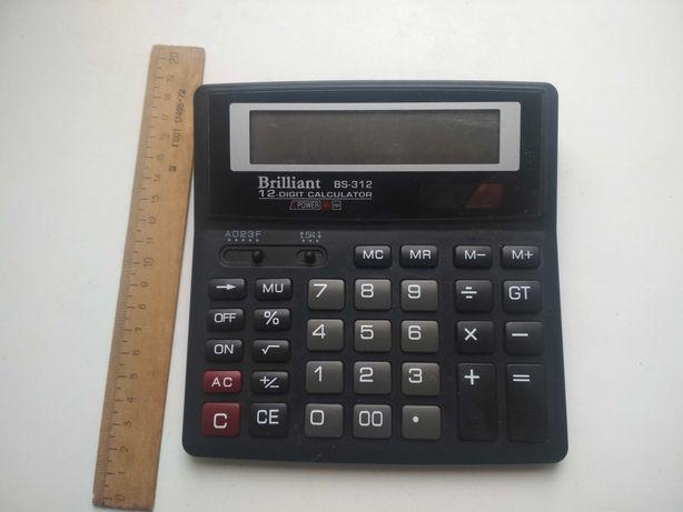 Калькулятор Brilliant BS-312, рабочий