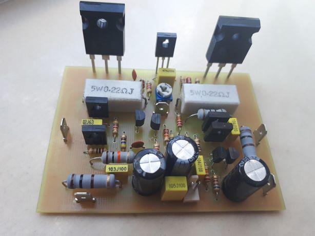 Wzmacniacz monofoniczny MOSFET 100W