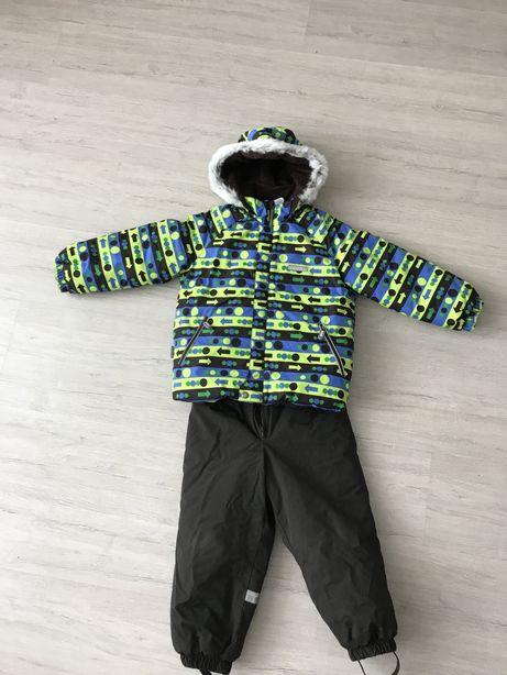 Зимний комбинезон, курткина мальчика 4-5л