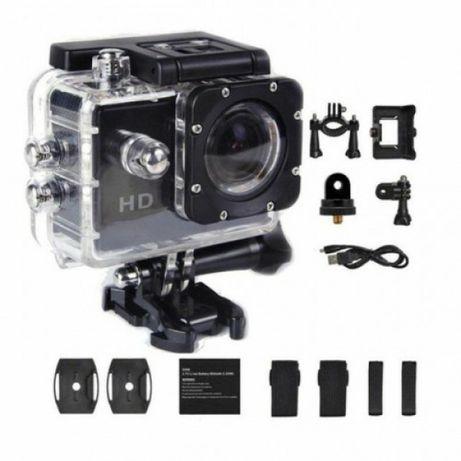 A7 экшн камера Full HD 1080 матрица 12 Мп цыкличная записи полный комп