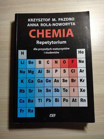 Chemia repetytorium dla maturzystów Pazdro