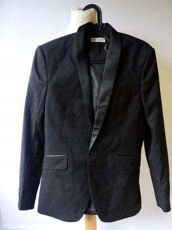 Garnitur Czarny H&M Satynowe Wstawki Lampasy 152 cm 11 12 lat Zara