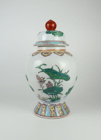 Jarra em Porcelana da China - Esmaltes