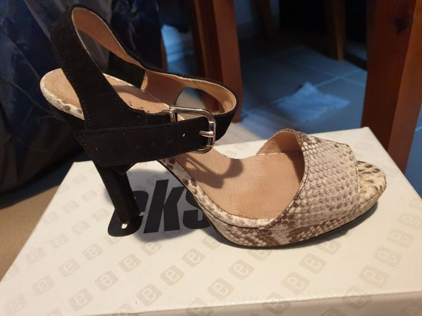 Szpilki sandały Ryłko