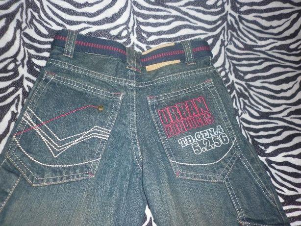 Новые джинсовые штаны-брюки 4-5лет