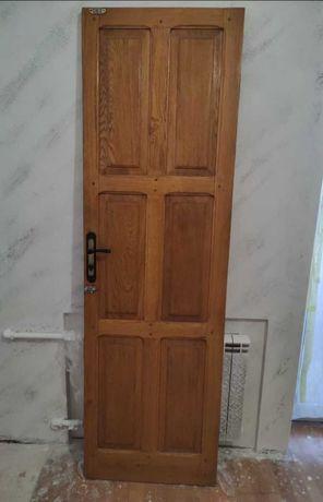 Комплект дверей межкомнатных, массив дуба 100 %!, б/у