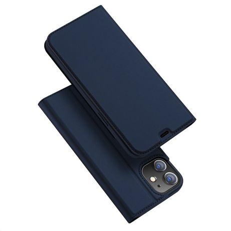 Capa Livro Horizontal Skin Pro Dux Ducis Skin Pro Iphone 12 Mini - Azul