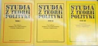 Studia z teorii polityki tom I-III