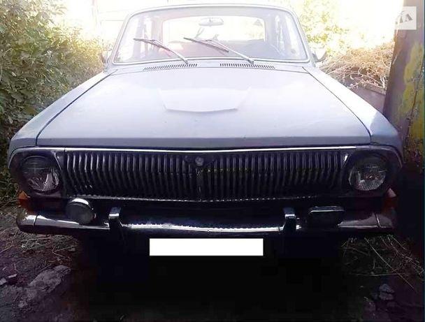 ГАЗ 24 Волга 1978 на ходу серая