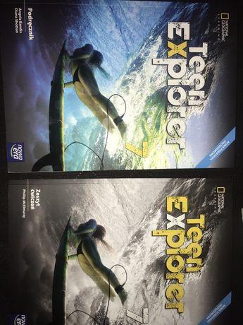 Teen explorer 7 A2/A2+ NOWY podręcznik+ćwiczenia