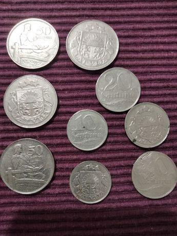 Монеты Латвийской Республики 1918-1940г.г.