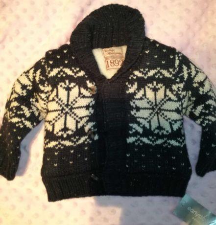 Sweterek świąteczny r.74