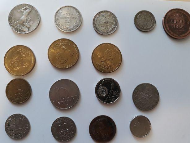 Редкие монеты (в т.ч серебряные, болгария, польша)