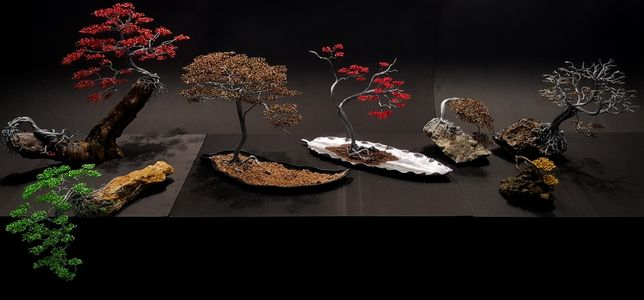 Fábio da Silva - Árvores de Arame - Wire Tree