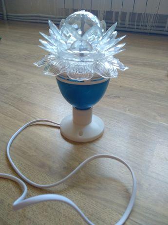 Лампа-цветок. Дефект