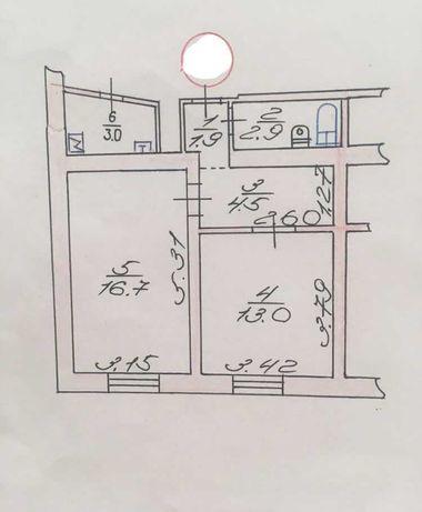 Терміново продам 2х кімн квартиру по пр.Соборності під комерційні цілі