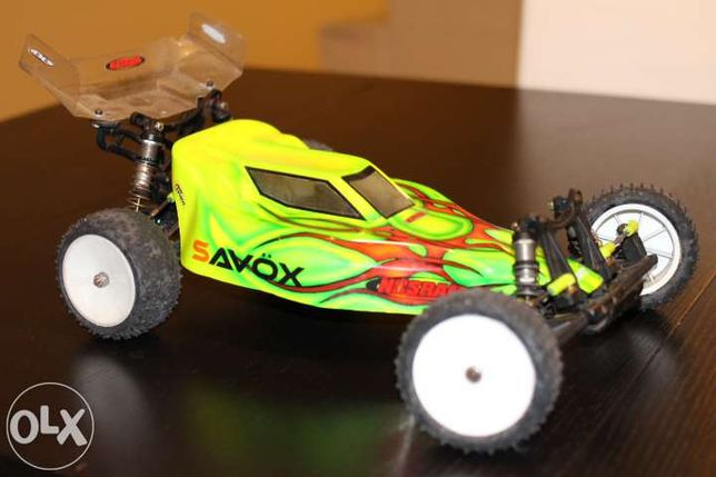 Buggy 2wd 1/10 Rc X-factory x6 square team associated extras
