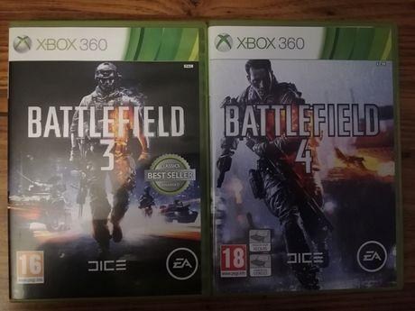 Gry Battlefield 3 i 4 tylko 40zł.