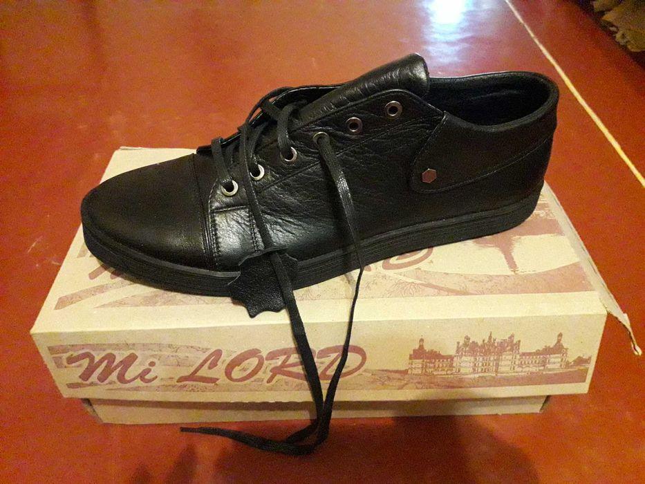 Новые мужские ботинки (весна-осень). Фирма Mi Lord.  43 размер. Кожа. Харьков - изображение 1