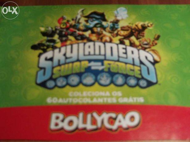 Coleção de cromos Skylanders