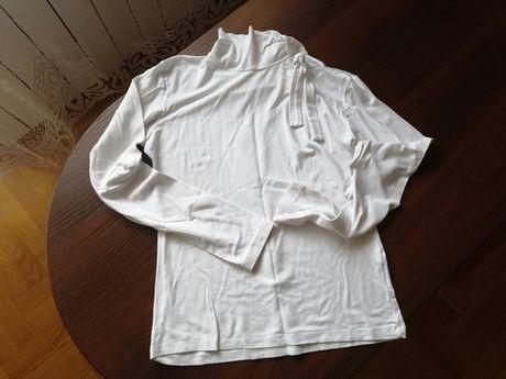Biały golfik