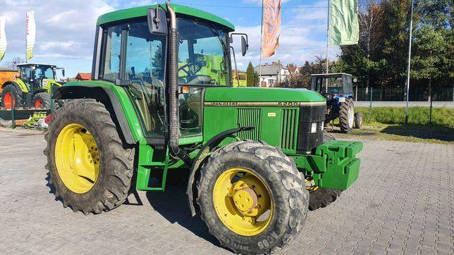 Ciągnik rolniczy John Deere 6200 z Niemiec