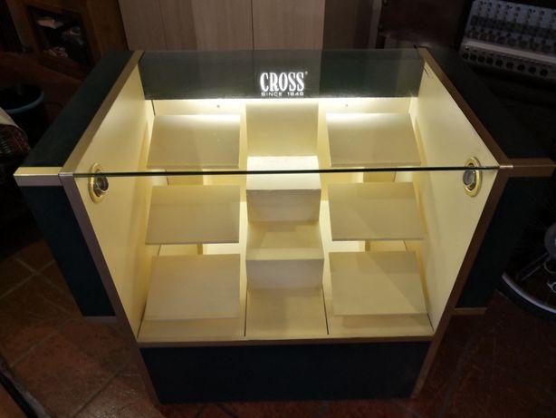 CROSS - Vitrina Balcão para loja